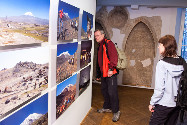 "Photo exhibition by Jaan Künnap: ""The ascent of Mount Ararat 180 years later"""