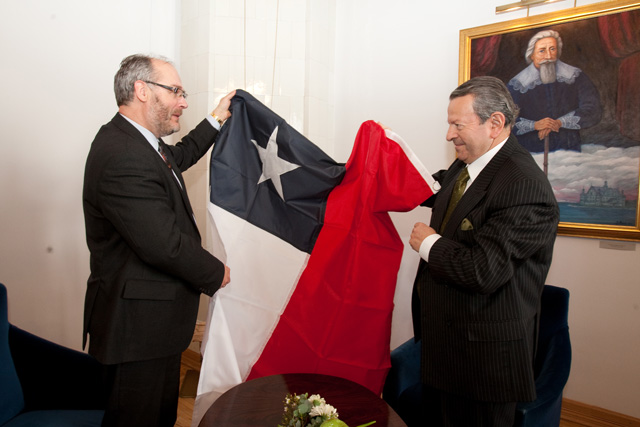 The Ambassador of Chile to Estonia and UT Rector