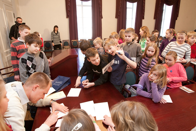 The Narva College Children's University in Tartu with guest lectures
