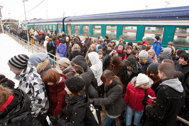 Tallinn-Tartu train