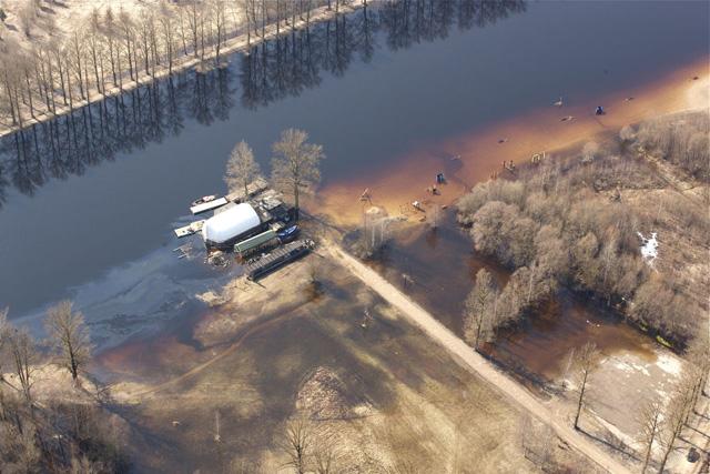 Flooding in Tartu