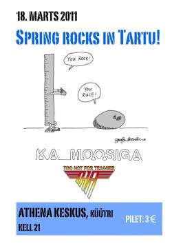 Ka Moosiga & THFT concert poster