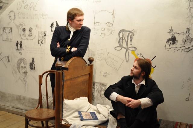 two 19th-century students: Karl and Jüri
