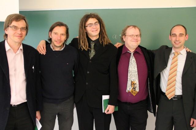 Prof. Ahto Buldas, Prof. Berry Schoenmakers, Margus Niitsoo, Prof. Helger Lipmaa, Prof. Dominique Unruh
