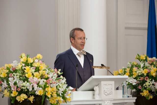 President of Estonia at the University of Tartu