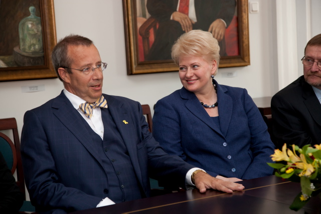 Presidents of Lithuania and Estonia