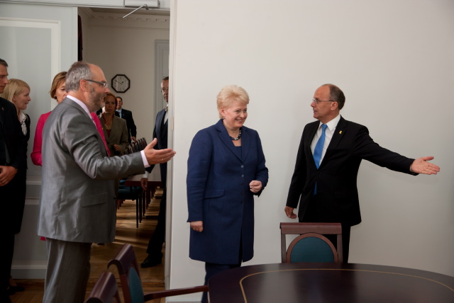 UT Rector welcomes President of Lithuania