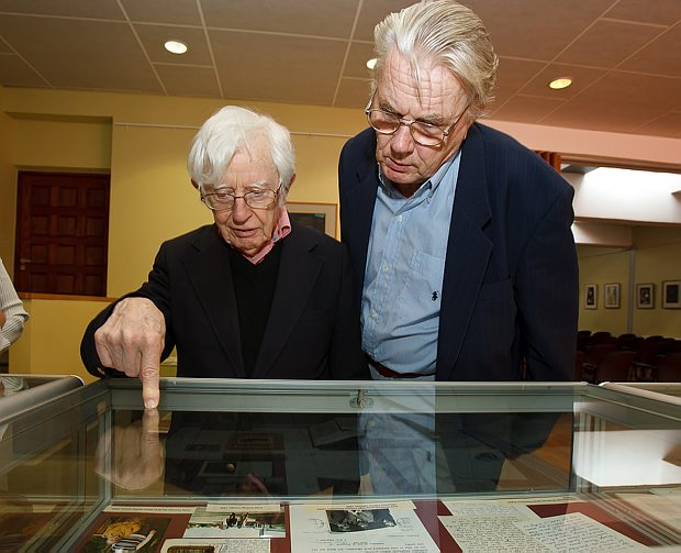 Professors Rom Harré and Rein Vihalemm