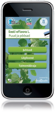 iPhone app eFloora