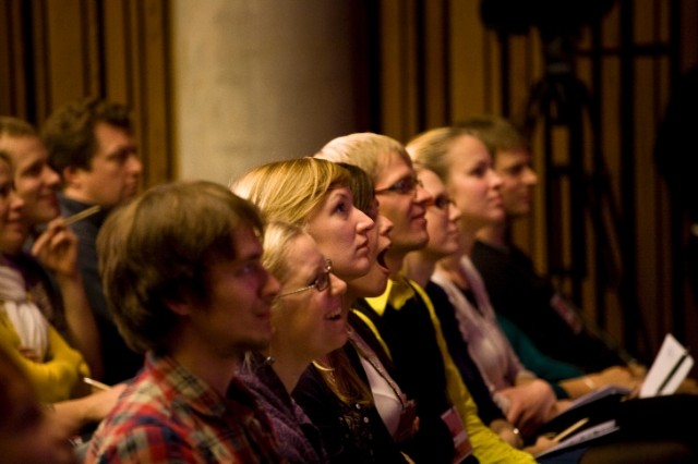 audience at TEDxTartu 2011