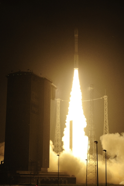 Launch of ESTCube-1 on Vega.