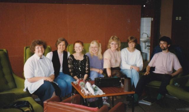Estonian language class in 1992