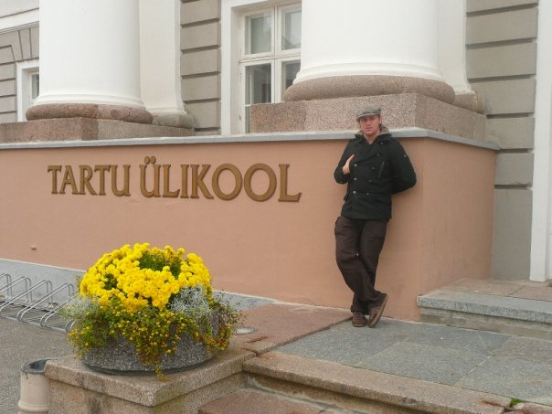 Frederik at the University of Tartu