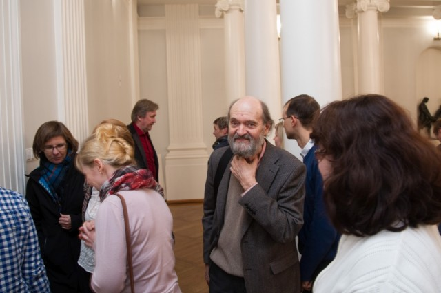 Arvo Pärt among students of the University of Tartu