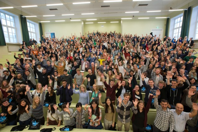 New international students at the University of Tartu