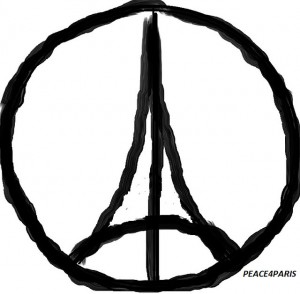 symbol of Paris attacks