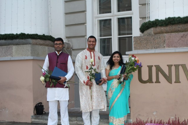 Sandip, Pratyush, and Chandana