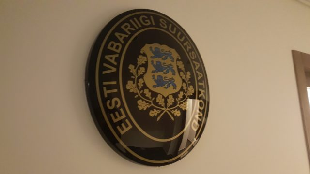 At the Estonian Embassy