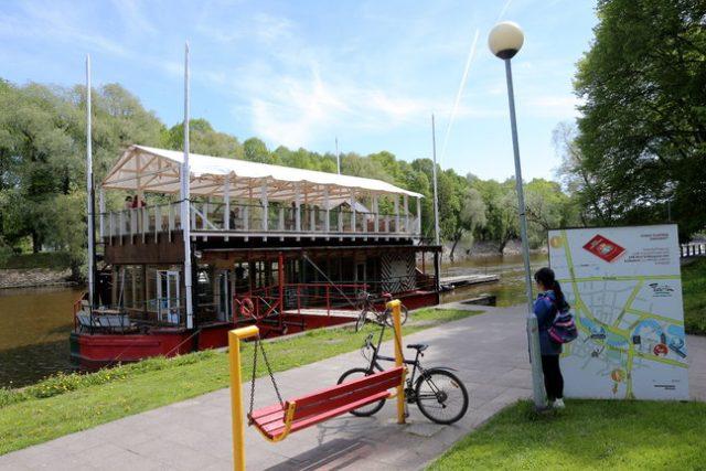 Sisevete saatkond, literally Inland Waters Embassy. Photo: Google