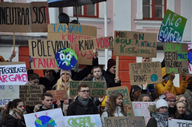 Tartu climate strike on 15 March 2019