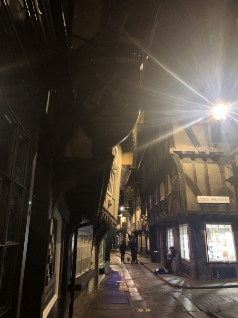 The Shambles; a little street in York