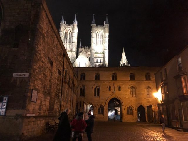 Bailgate in the Cathedral Quarter of Lincoln, UK