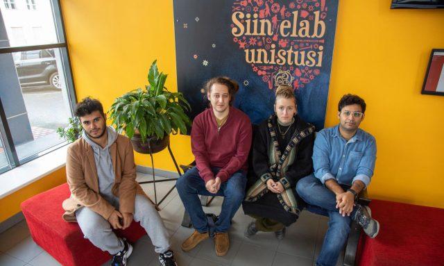 Students of the University of Tartu Viljandi Culture Academy.